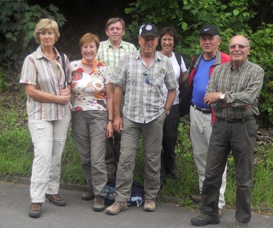 DJK Gramschatz Seniorenwanderung Retzstadt 2012
