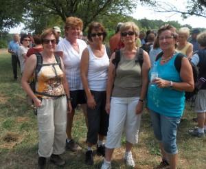 DJK Gramschatz  - Seniorenwanderung Volkach 2012