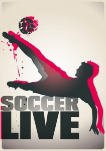 fussball poster live